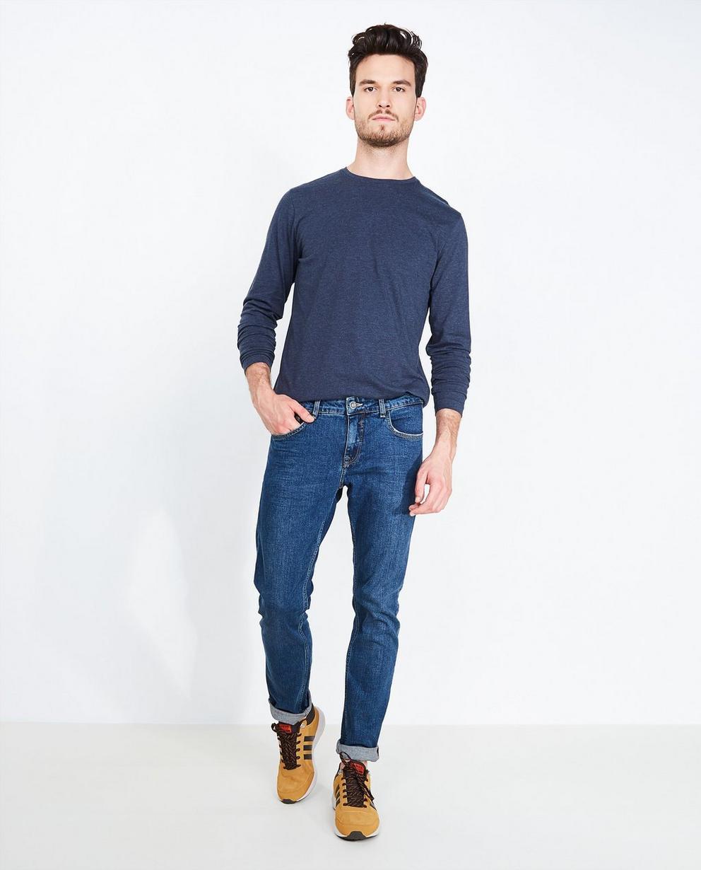Jeans bleu foncé - slim fit - Quarterback